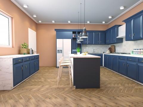 تطبيق ورشة تصميم مطبخ عصري