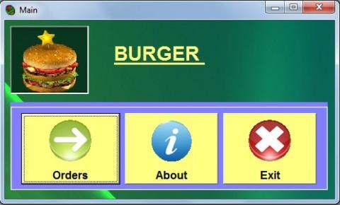 Burger Ordering System