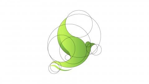Dove logo design