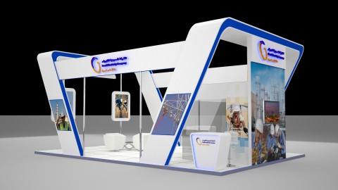 مجموعة تصاميم ستاندات معارض Exhibition Both للشركة السعودية للكهرباء