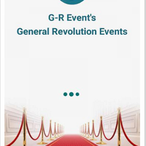 تطبيق الفعاليات G-R Event's