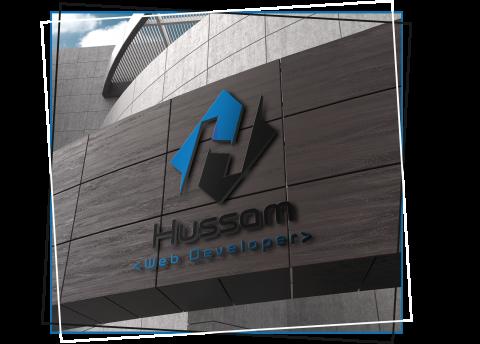 تصميم علامة تجارية لشركة Hussam