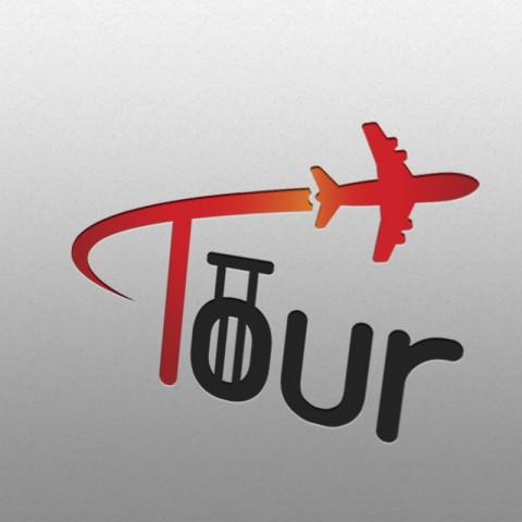 تصميم شعار لتطبيق TOUR