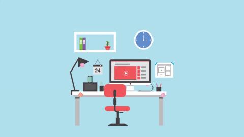 Freelancers Desks motion graphics
