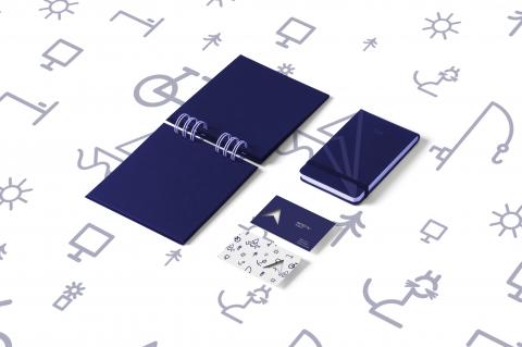 هوية ل AMA designs