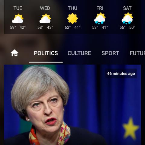 تطبيق اندرويد اخباري بلوحة تحكم شاملة