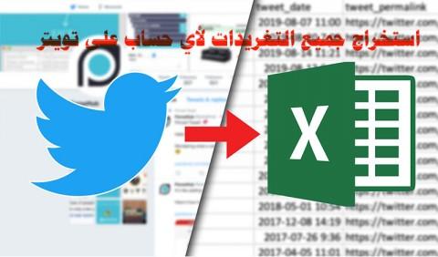 تحليل تغريدات حساب واس العام على تويتر