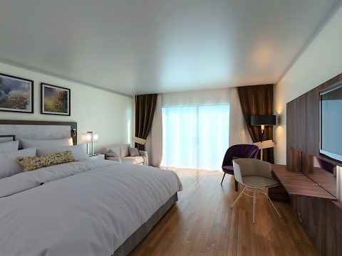 غرفة فندق