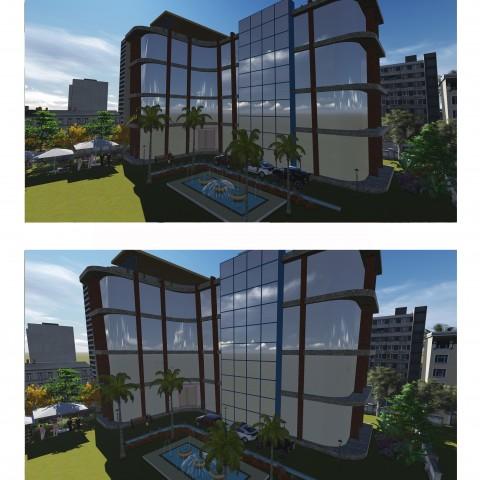 عمل تصميمات معمارية 3d  بالابعاد الثلاثة واللوحات الهندسية