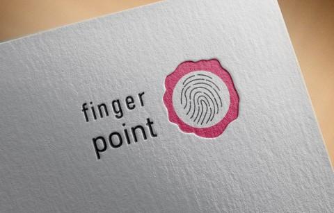 """شعار لمشروع منزلي """" Finger Point"""""""