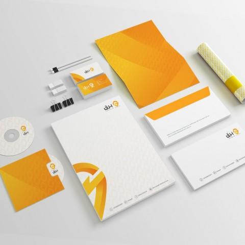 تصميم شعار وهوية تطبيق   Logo & Brand Design