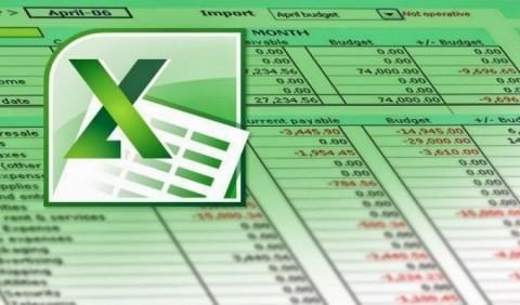 إدخال البيانات على Excel