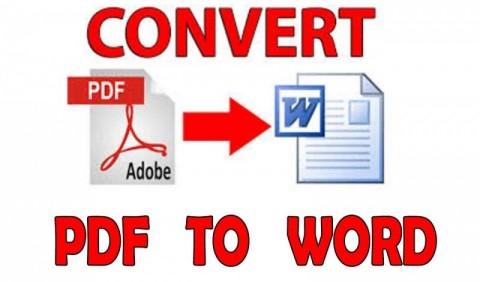 تبييض و تفريغ بيانات ال PDF  والسكانر على الword