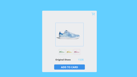 تصميم UI لمنتج