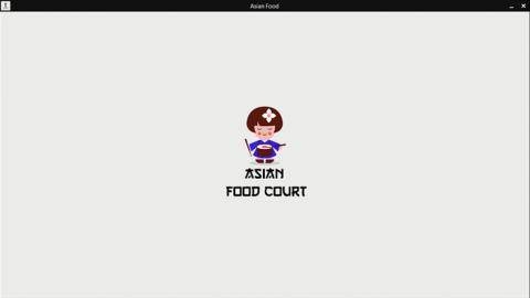 تطبيق ويندوز للاكل الاسيوى