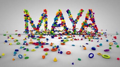 Maya Logo Dynamic