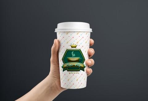 Café cup design