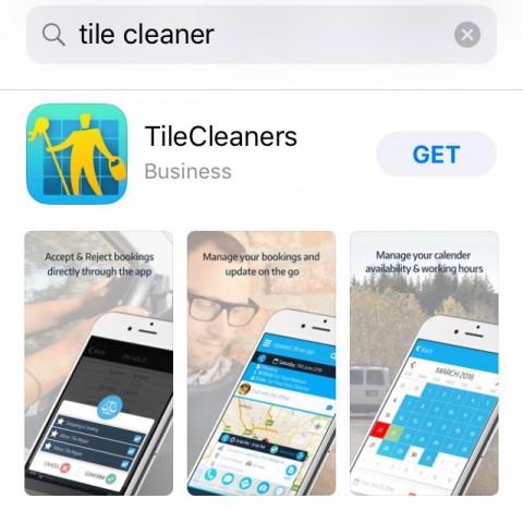تطبيقTile Cleaner