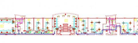 تصميم أعمال التكييف الخاصة بمصنع للأجهزه الالكترونية