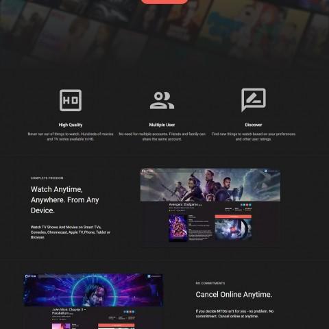 أحصل الآن على موقعك للأفلام و المسلسلات مثل netflix!