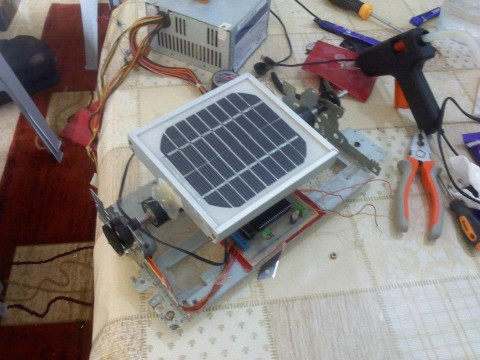 Solar Panel Tracking