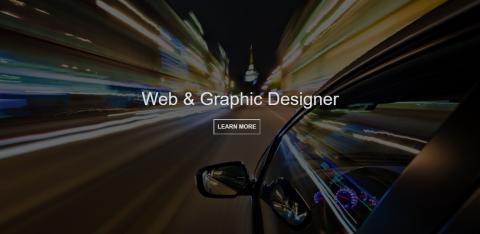 موقع cv لشخص يعمل كمصمم مواقع