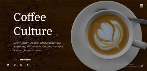 موقع لشركة قهوا