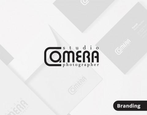 """تصميم شعار لمصور فوتوغرافي """"Camera"""""""