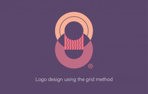 تصميم شعار بإستخدام الشبكة (Grid Method)