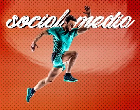 social media - gym