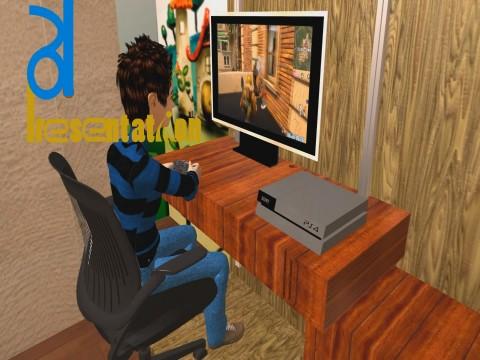 فيديو 3D توعية عن ادمان البلايستيشن