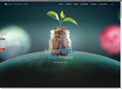 موقع تعريفي لعرض الخدمات المقدمة من قبل شركة التسويق الاكبر في وجه بحري، مصر