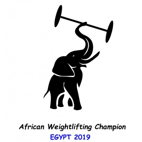 شعارالبطولة الأفريقية لرفع الأثقال