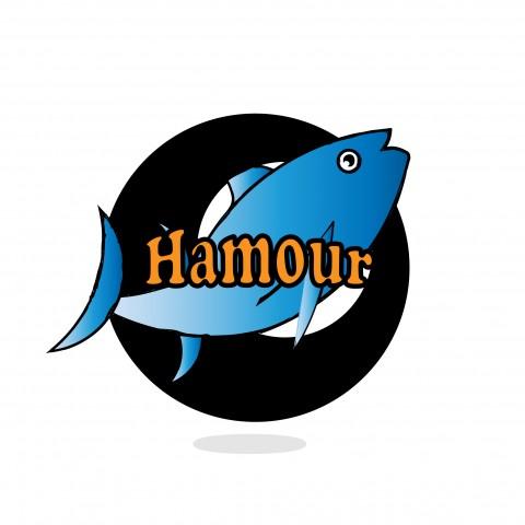 لوجو أسماك(هامور)
