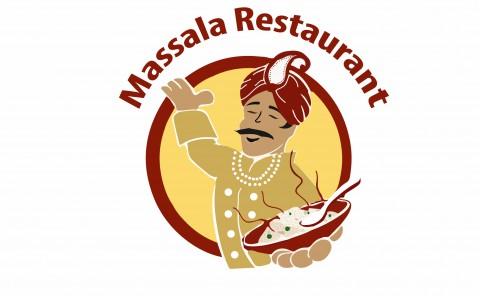 شعار لمطعم هندى