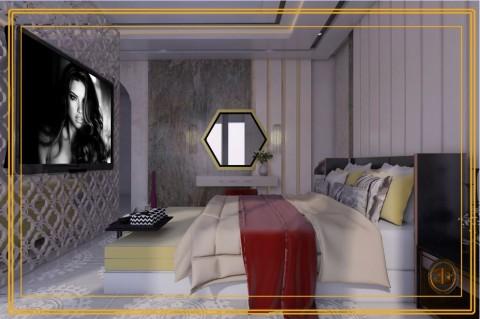 تصميم  لغرفة نوم رئيسية  (عمان)