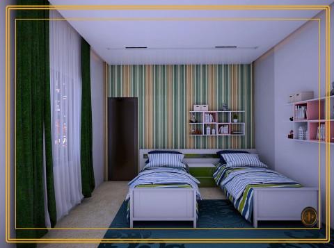 تصميم غرفة اطفال اولاد (السعودية)