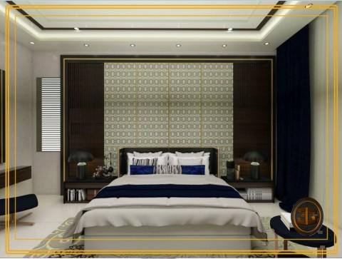 تصميم لغرفة نوم رئيسية  (السعودية)