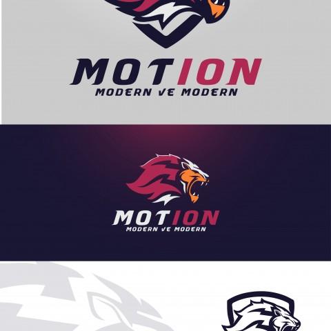 تصميم شعار  motion modern ve modern