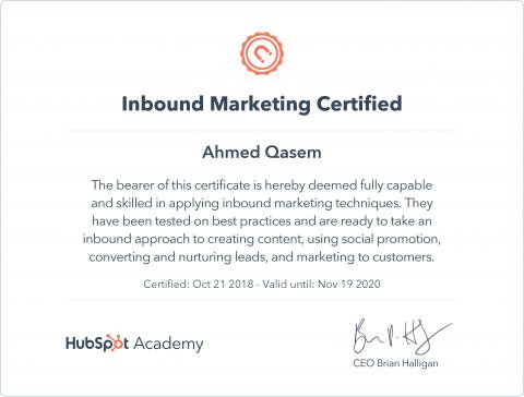 HubSpot-Inbound Marketing