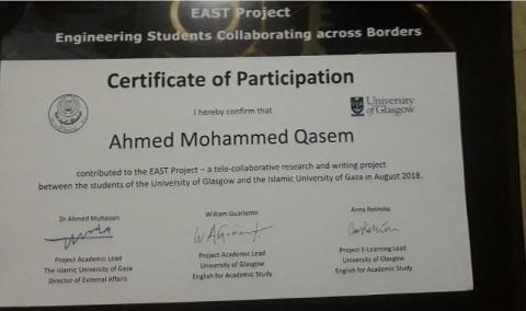 برنامج الكتابة والبحث الأكاديمي مع طلاب جامعة جلاسكو باسكتلندا