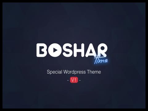 BosharTime   wordpress theme
