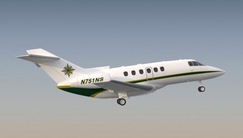 3D Modeling Nasjet airplane