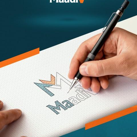 MaadiV - logo design & animation