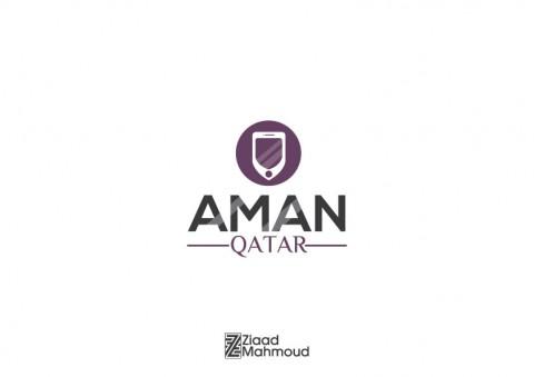 Aman Qatar logo