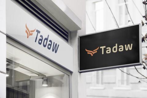 هوية مطبوعات لشركة Tadaw