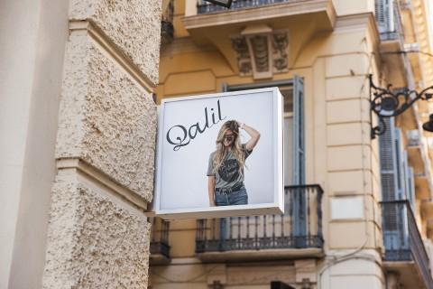 Optical identity of a brand Qalil