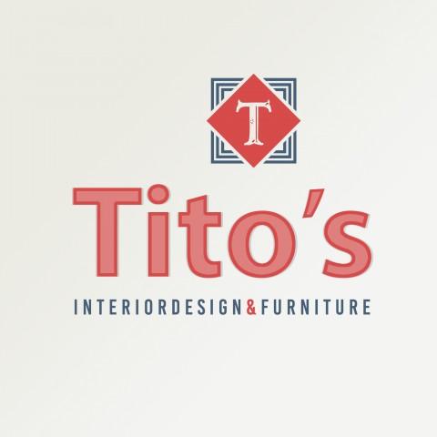 شعار و تصميم سوشيال ميديا  شركه بيع أثاث  Titos