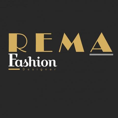 لوجو شركة تصميم أزياء REMA