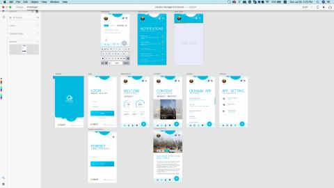CM App. UI/UX Design